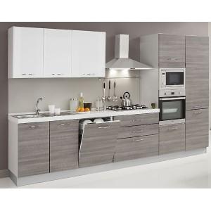 Cucina alma con lavastoviglie microonde creo kitchens - Mobile porta forno microonde ...