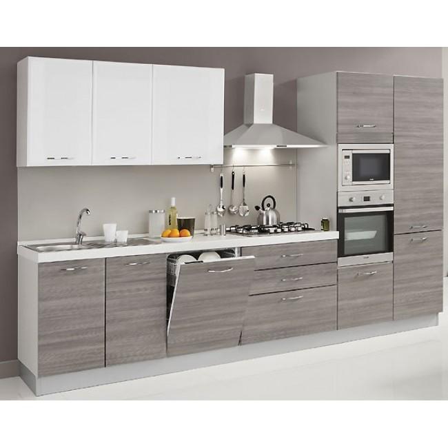 Cucina alma con lavastoviglie microonde creo kitchens - Forno e microonde insieme ...