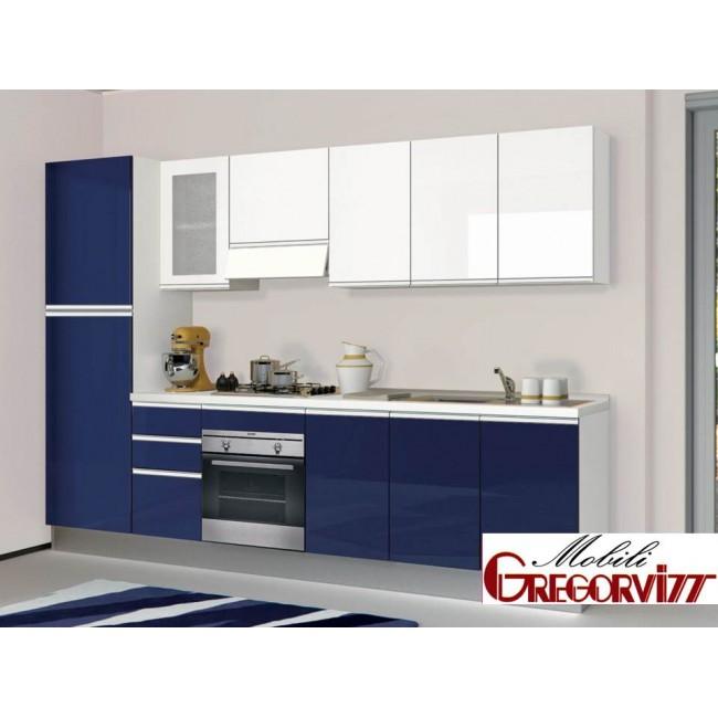 Cucina nita con lavastoviglie creo kitchens - Cucine componibili con lavastoviglie ...